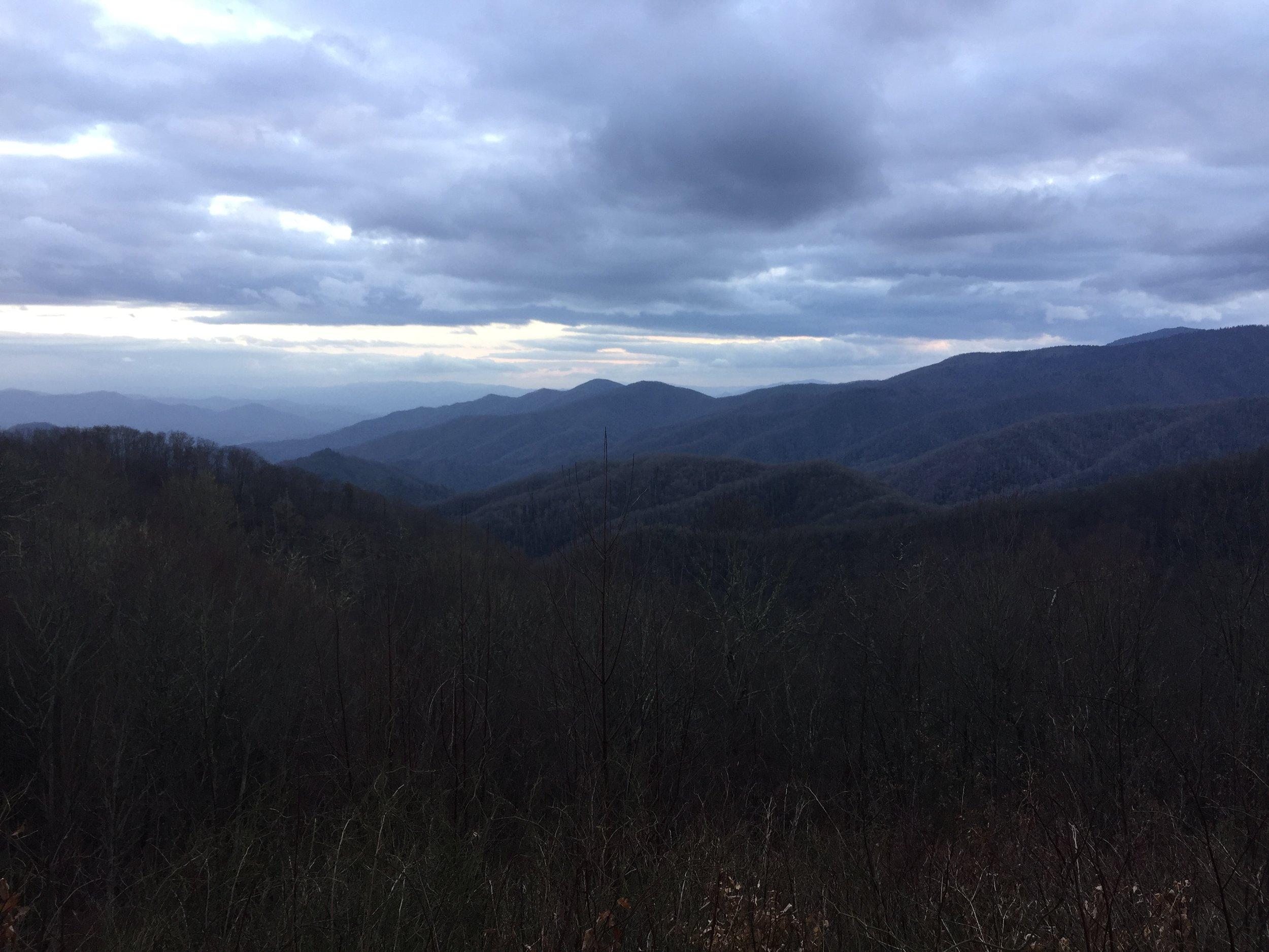 The great smoky mountains, North Carolina