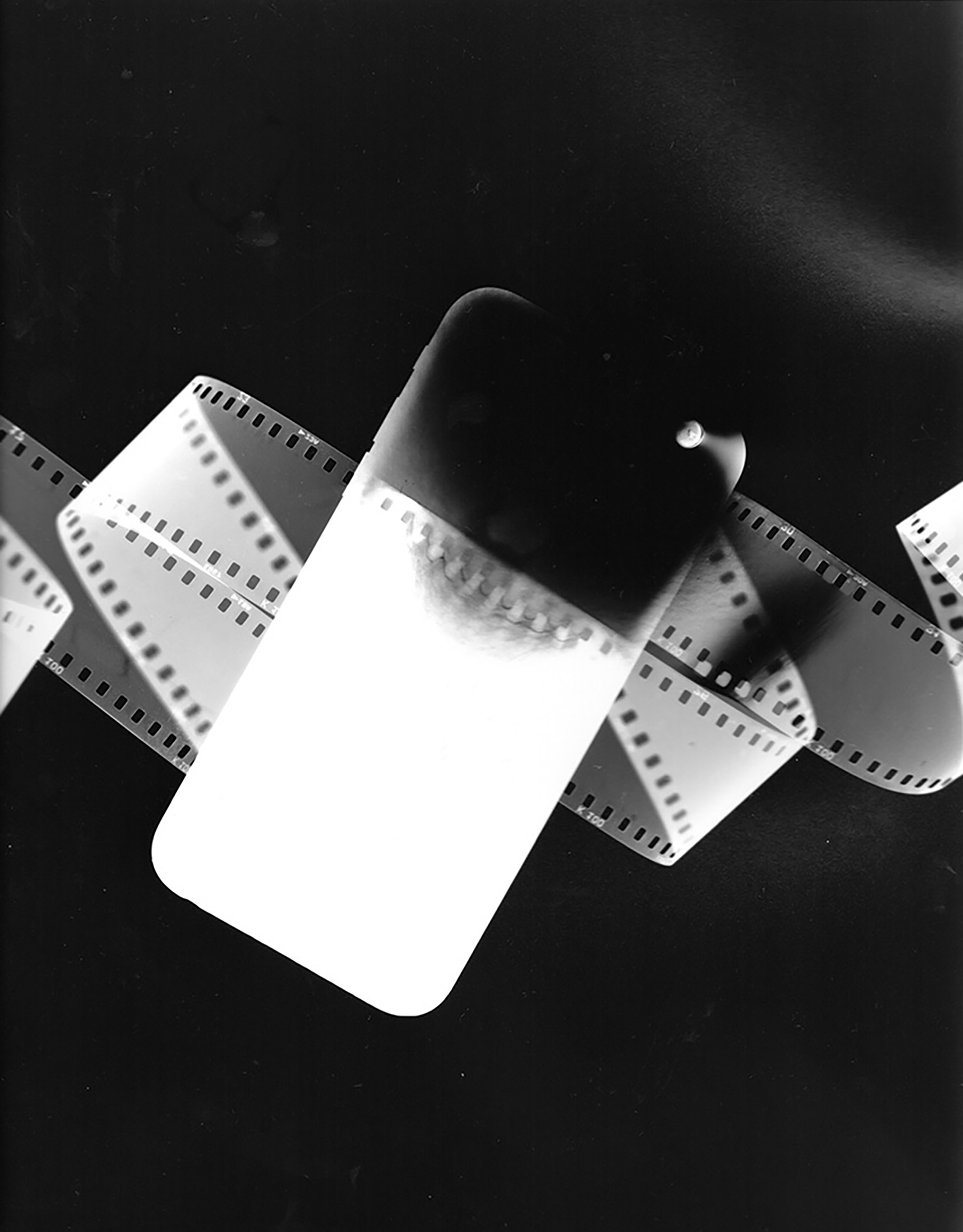 Soon People Will Not Even Know What Film Is_02,  2018, Silver gelatin photogram