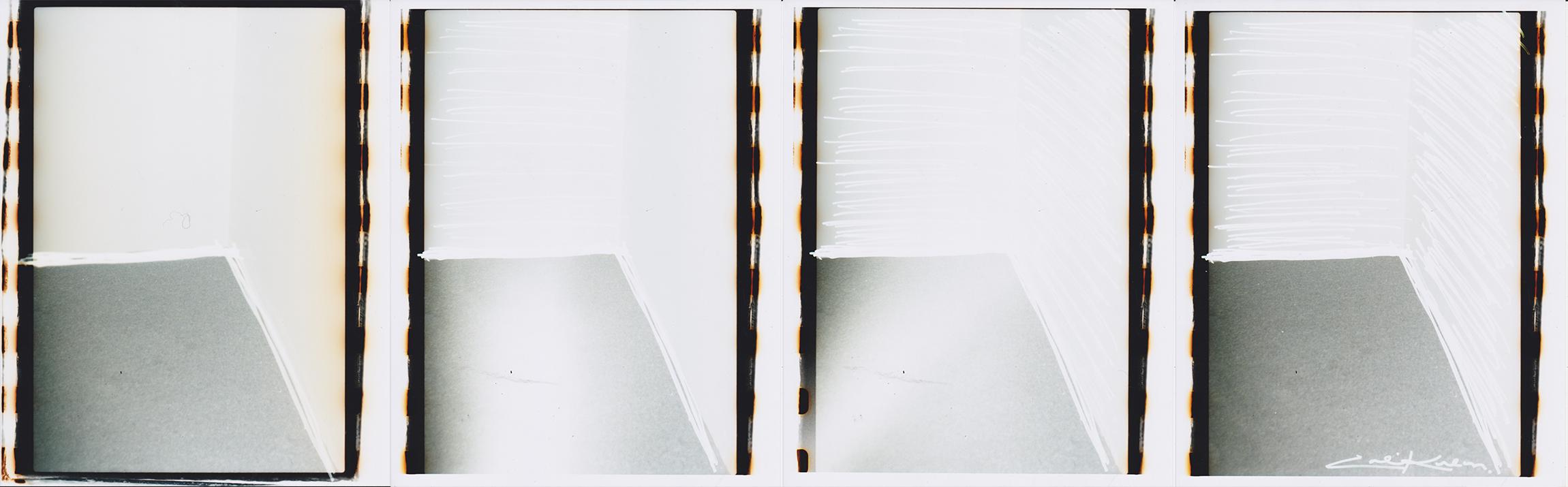 Photoshop White Wall Erasure , 2017, Chromogenic Print