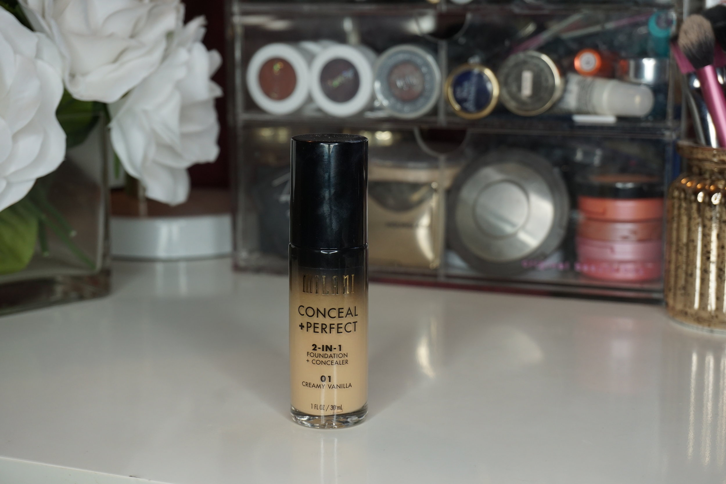 Milani Conceal and Perfect Foundation review