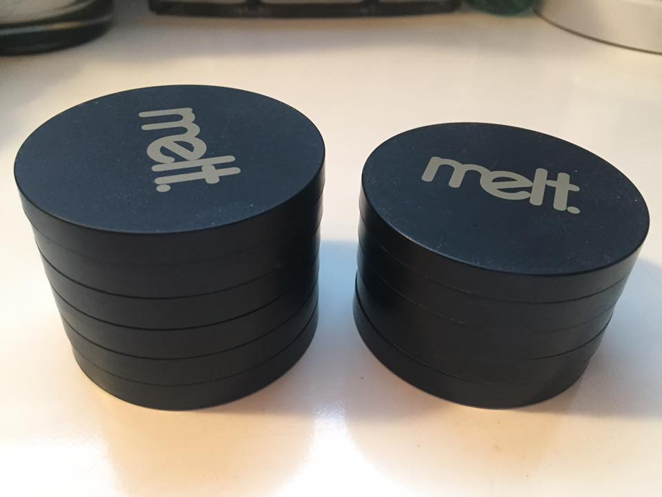 Melt Cosmetics Eyeshadow stacks