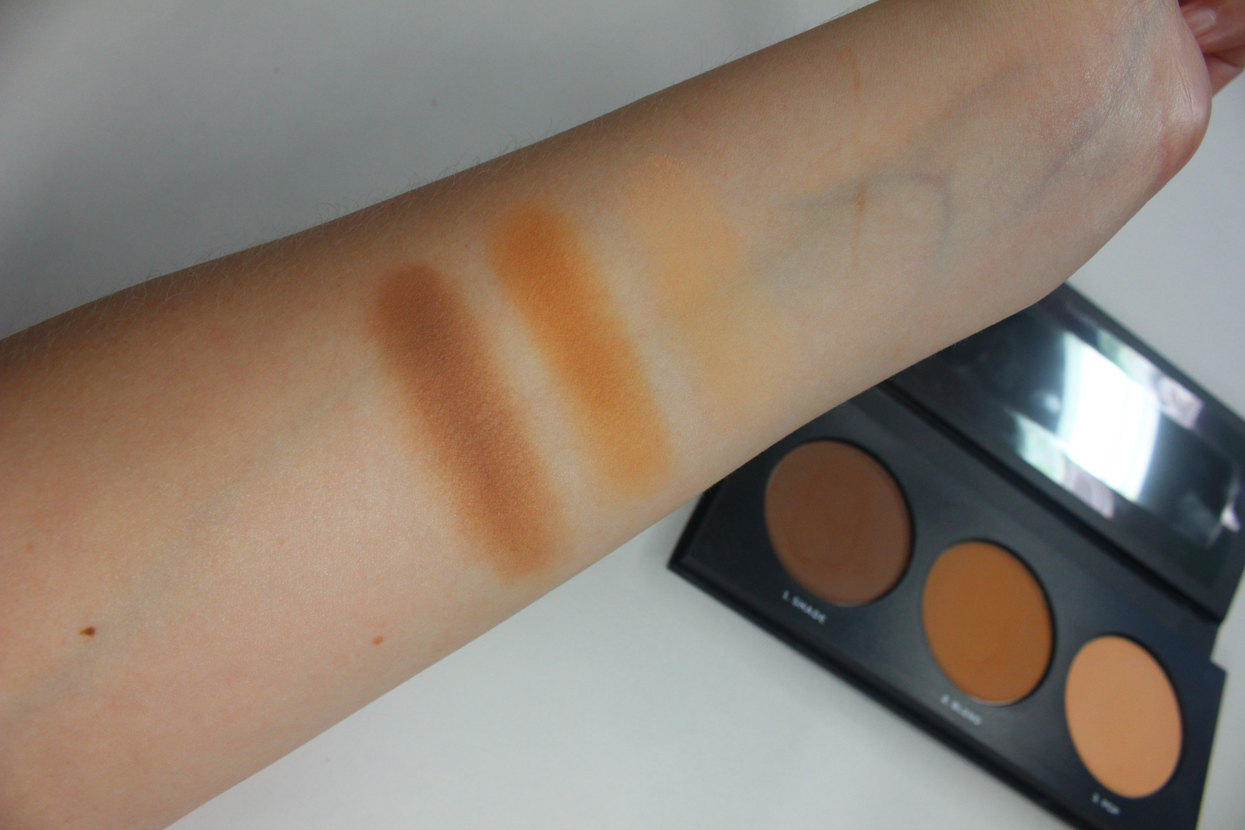 bareminerals powder shaping trio review