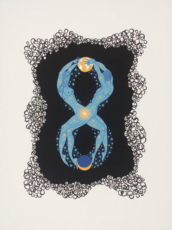 """Number Eight"" Erte (Romain de Tirtoff)"