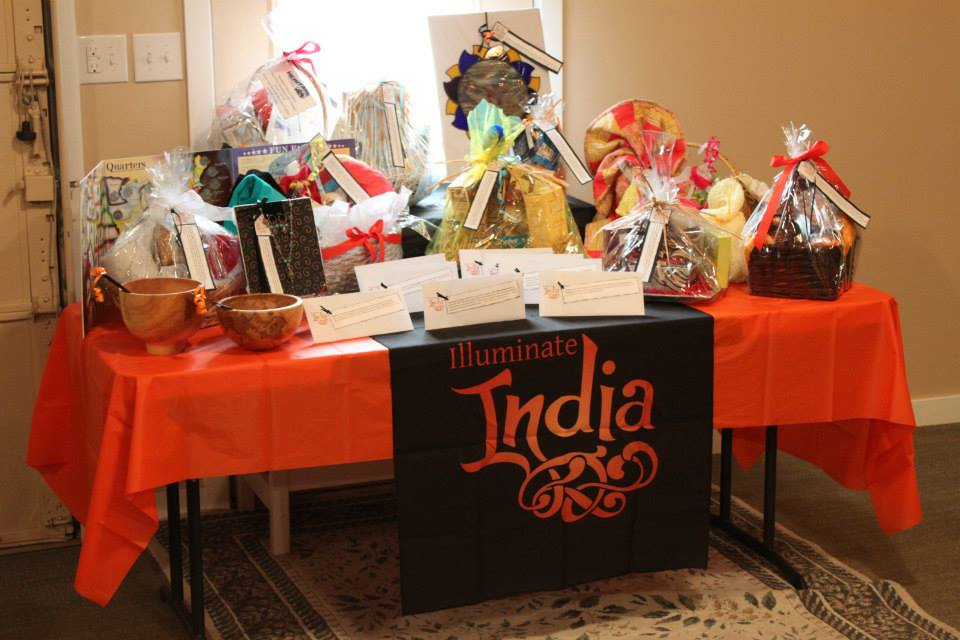 Items auctioned off during a Curry for a Cause in Idaho.