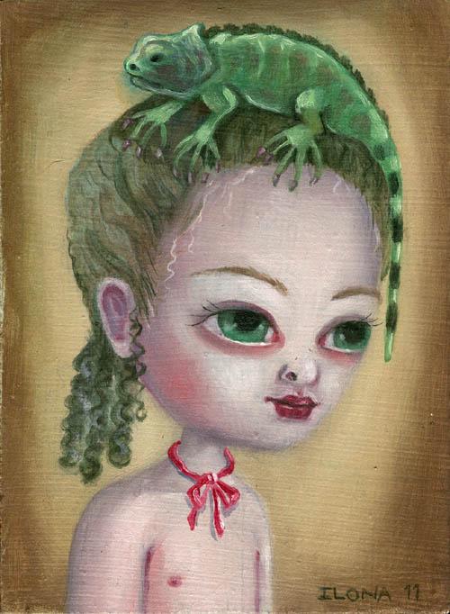 Iguana Girl 2012