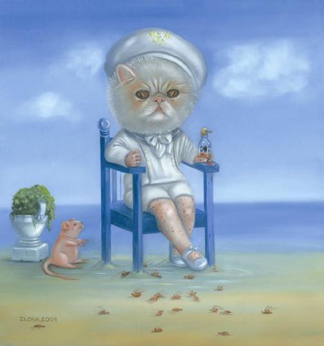 Blue Sailor Boy (Pulex Irritans) 2009