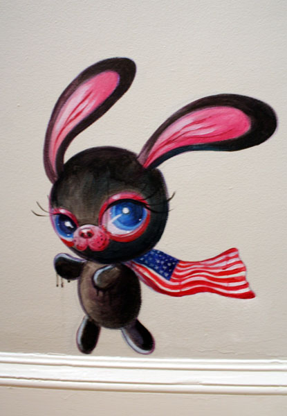 Black Bunnie goes America