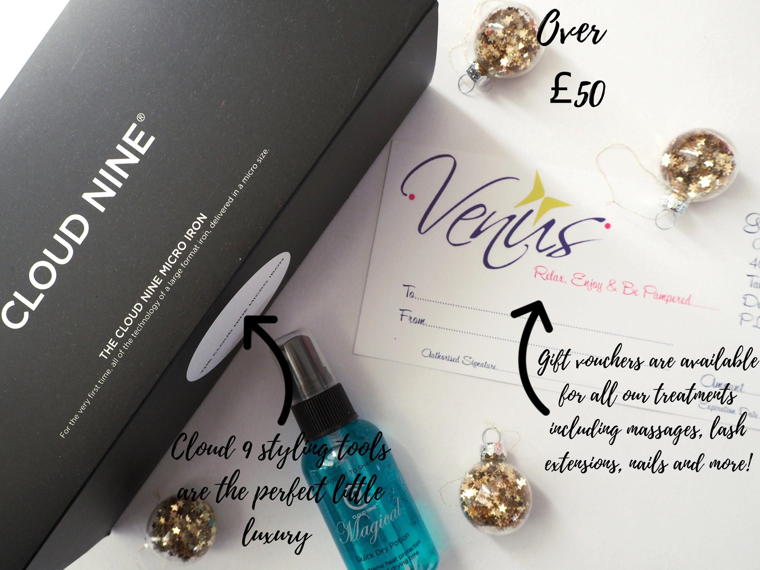 Venus-Beauty-Hair-Tavistock-Devon-Salon-Christmas-Gift-Guide-Cloud-9-Gift-Voucher-Lash-Extensions-Massages-Over-50.JPG