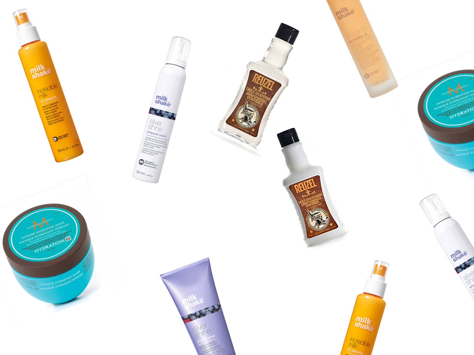 Find your Perfect Match - Your hair deserves the best, make sure the products you use are the perfect pairing for your hair type.
