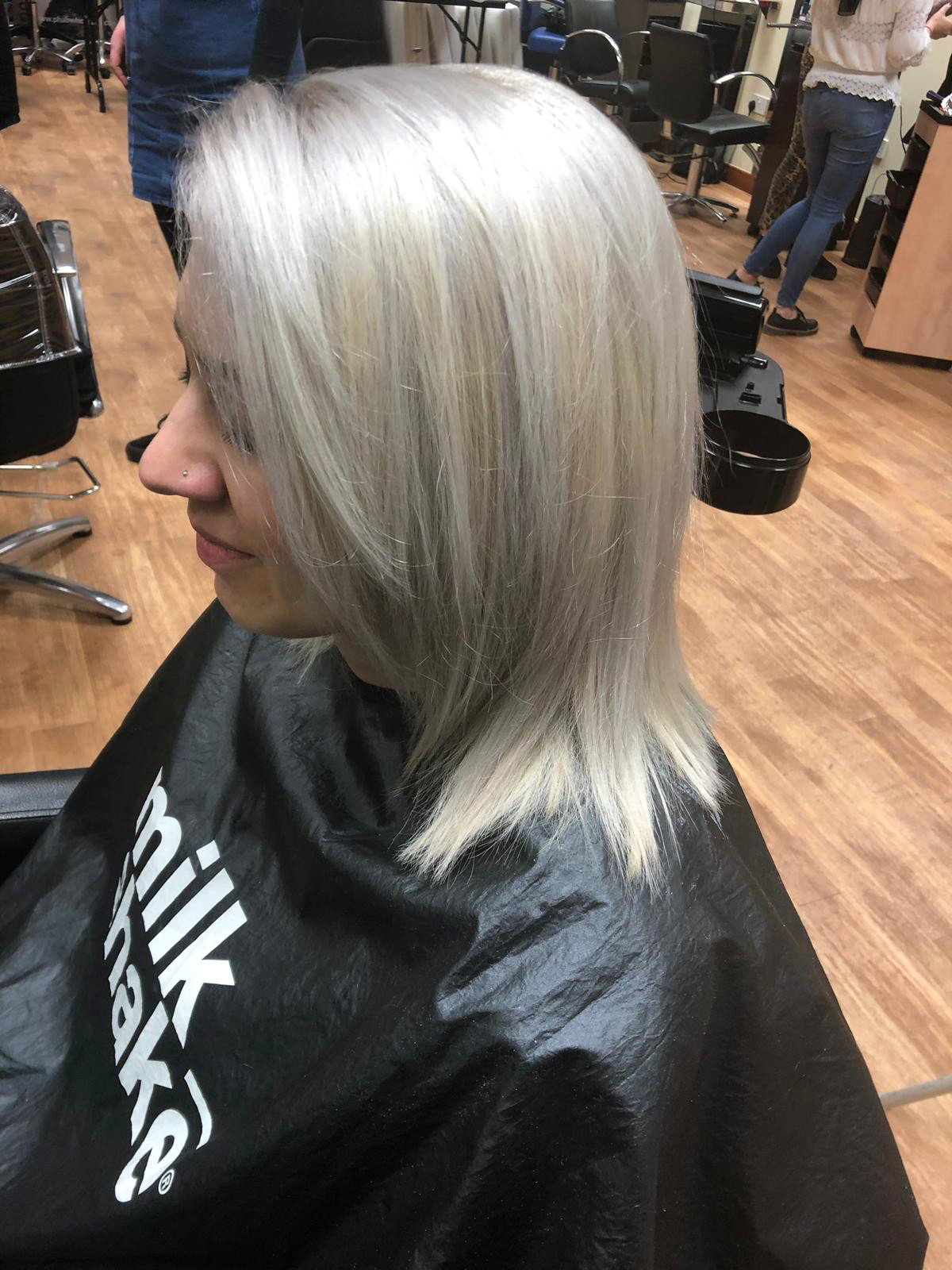 Venus-Beauty-Hair-Salon-Tavistock-Devon-Courses-Learning-Hannah-Woodgates-Confidential-Colours-Milkshake-Phab-Silver-Hair.JPG