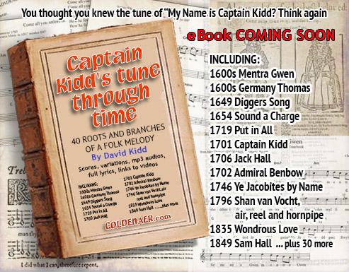 Captain Kidd Music eBook