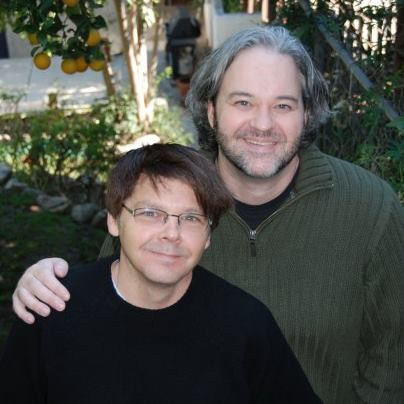 Rodney and husband Rob Williams, married in 2016