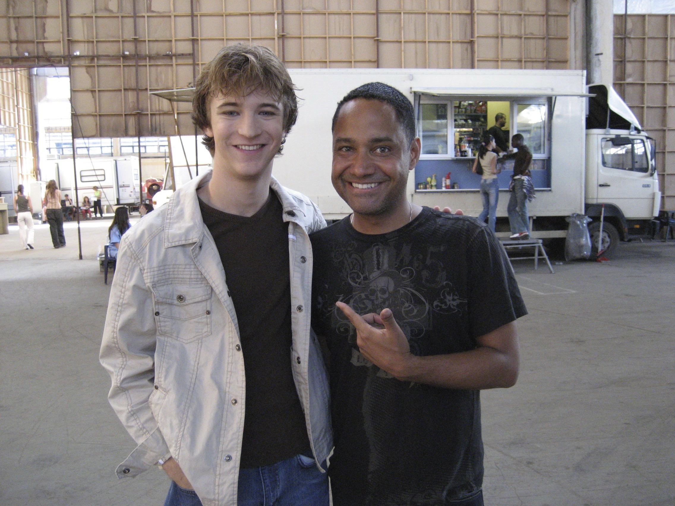With Michael Welch from  Day of the Dead .