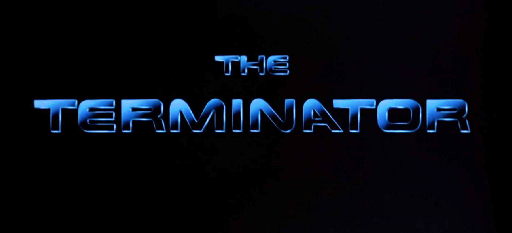 Final main title zooming back to infinity.