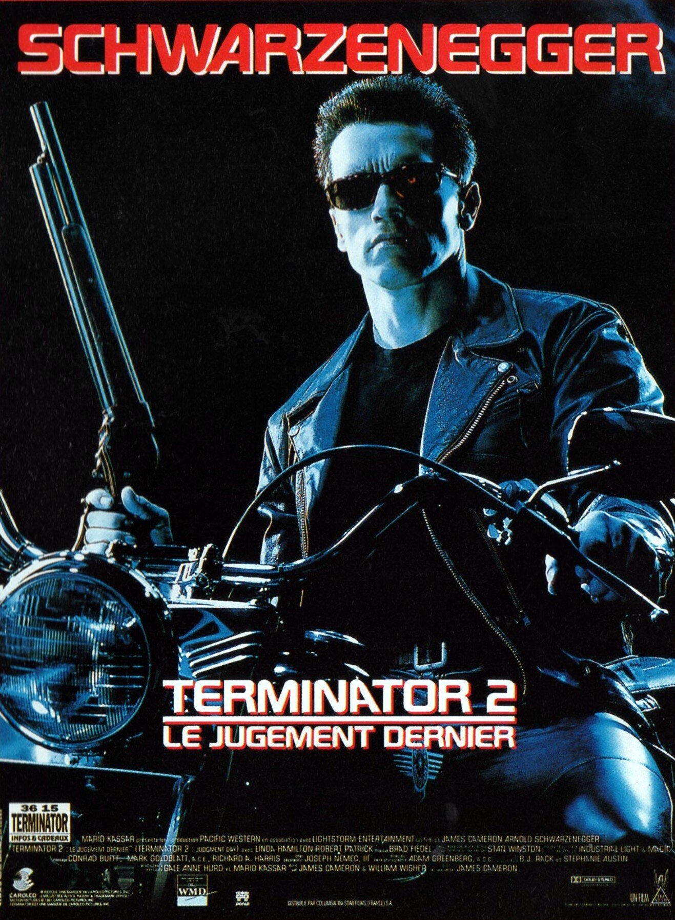 A foreign film poster for  Terminator 2 . The film was loved around the globe!