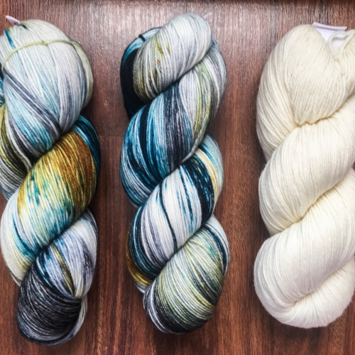 Yowza in Believable Colorway || Miss Babs yarn