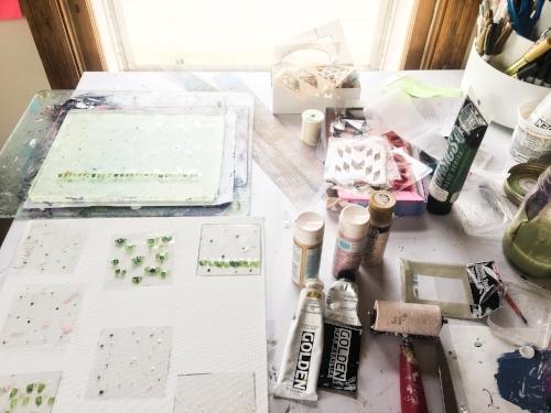 #deskie || Rachel Loewens Fine Art