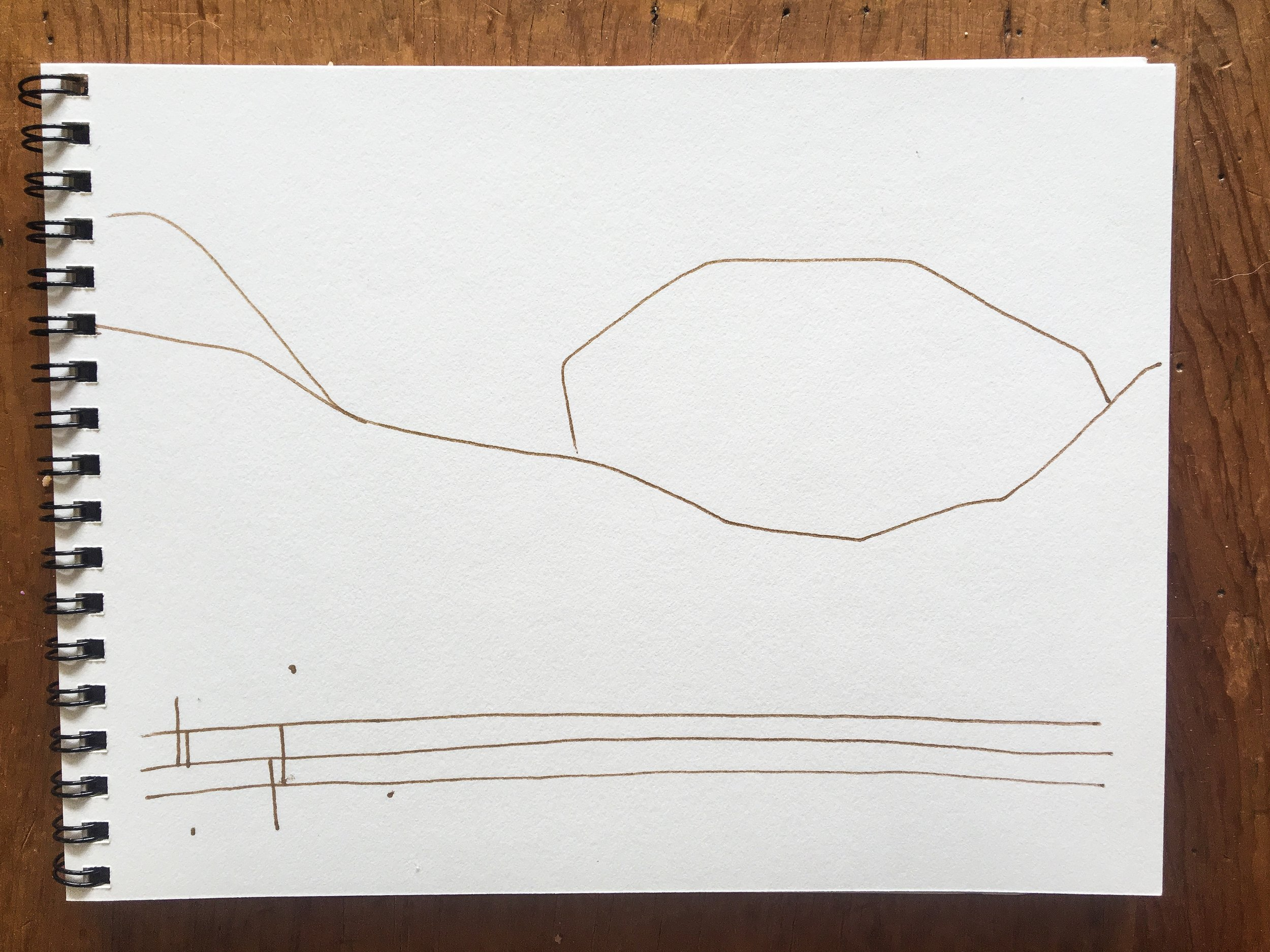 Sunday sketch || Rachel Loewens Fine Art