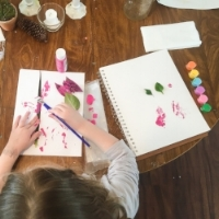 Art and science class collide || Rachel Loewens Fine Art