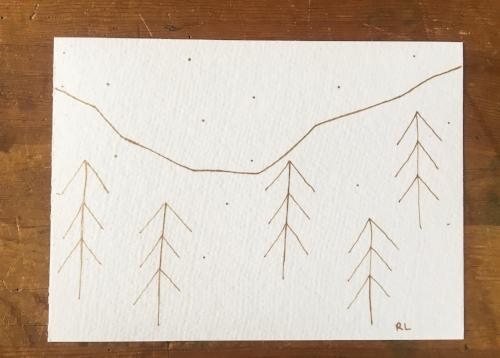 Sketches and Doodles || Rachel Loewens Fine Art