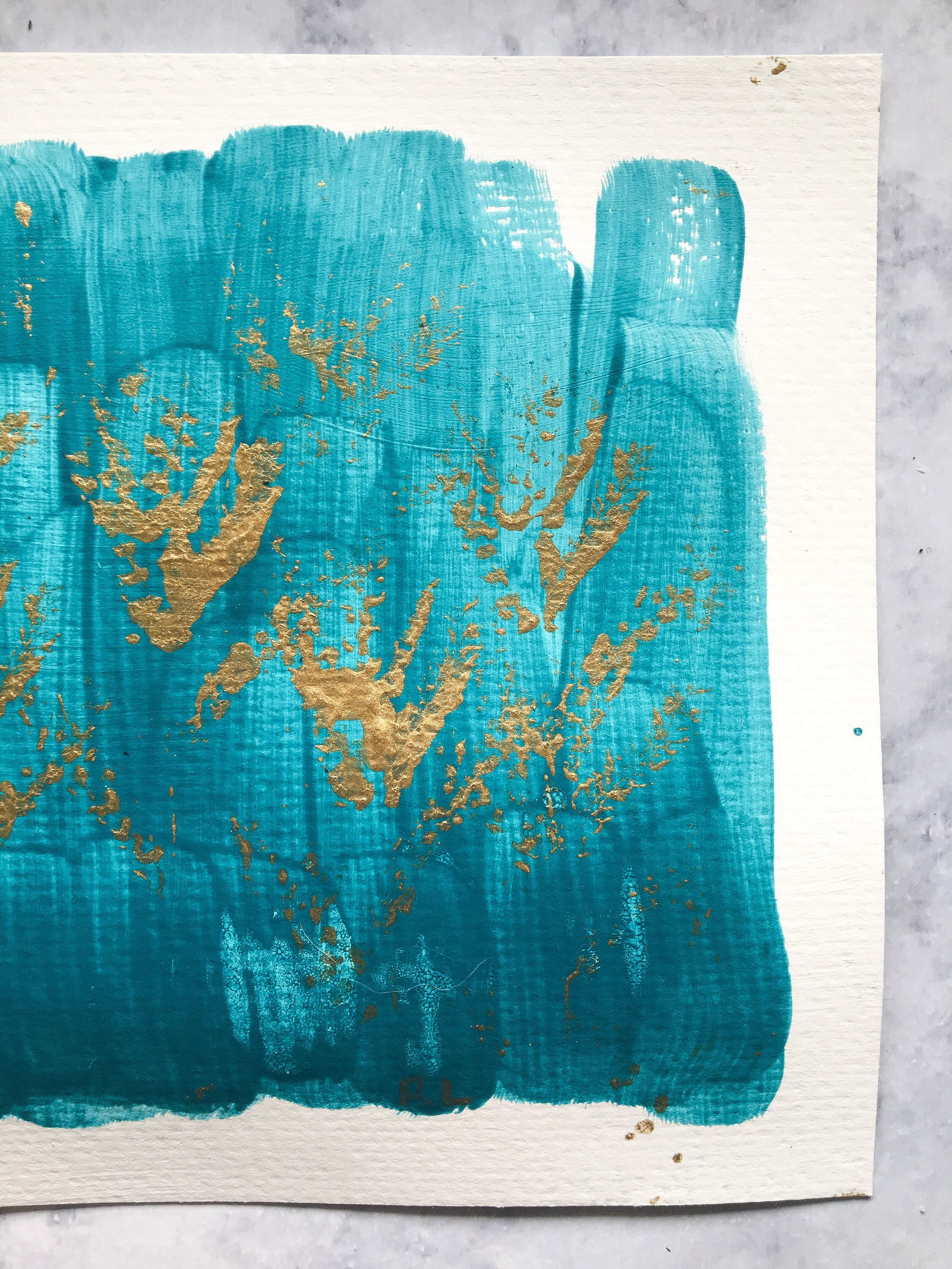 Pulling and printing with ornamental grass || Ordinary Time in my studio || Rachel Loewens Fine Art