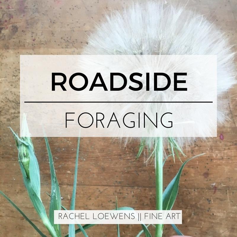 Roadside Foraging || Rachel Loewens Fine Art