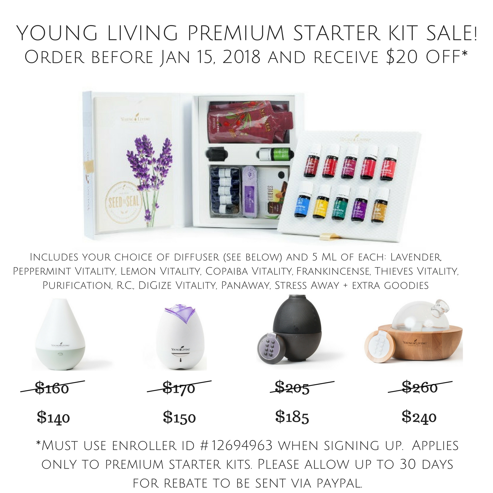 Young Living Promotion || Rachel Loewens