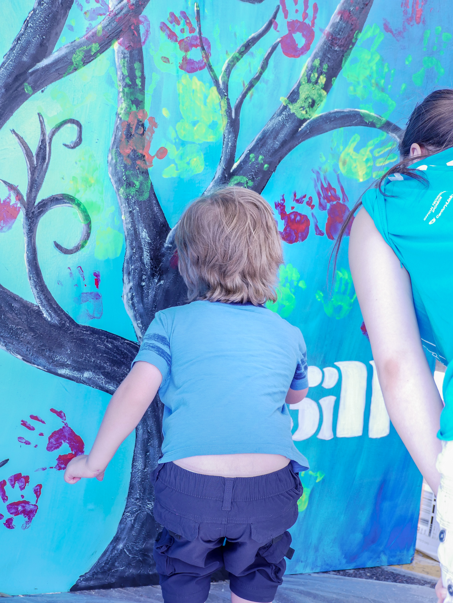 Mural || Summer Arts Festival || Rachel Loewens Studios
