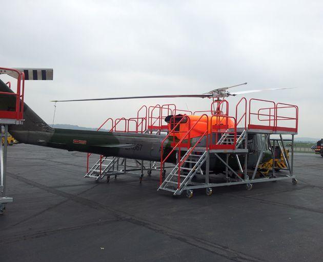 Aluminium Helicopter Engine Platform