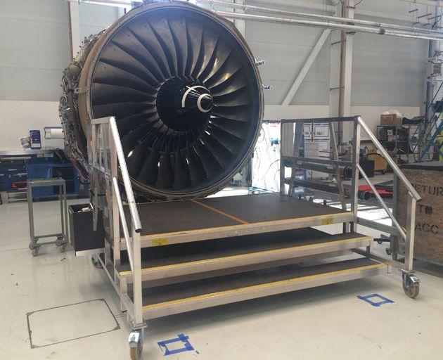 Aluminium Engine Access Staging