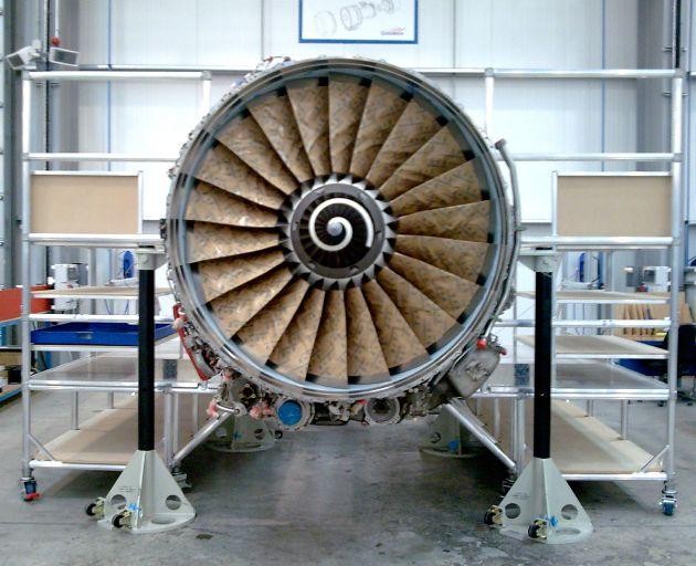 Aluminium Engine Access Platform