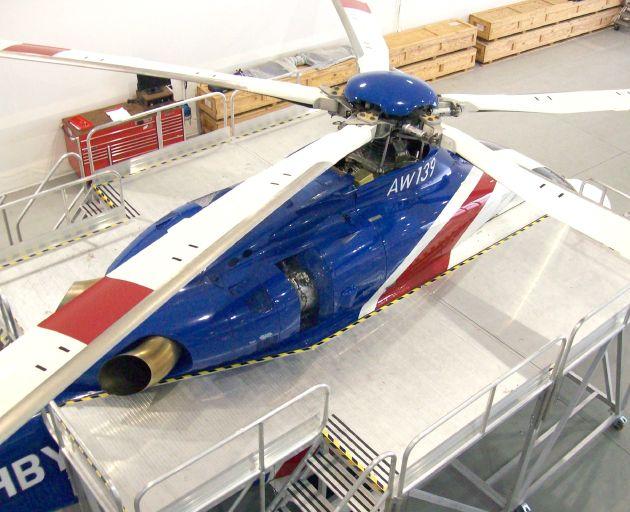 Helicopter Engine Access Platform