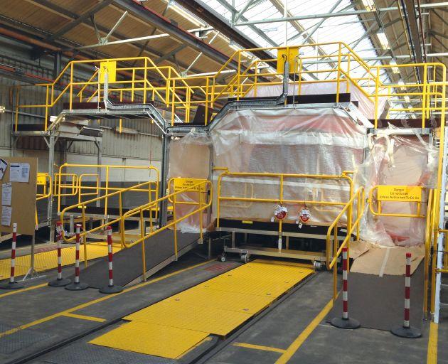 Loco Aluminium Roof Access Platforms