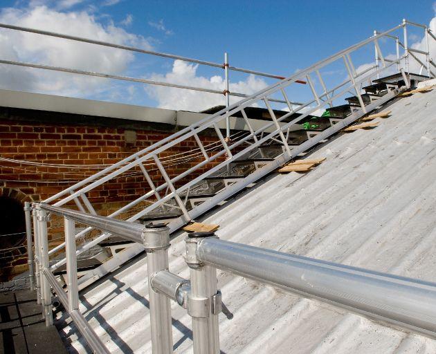Aluminium Roof Guiderails