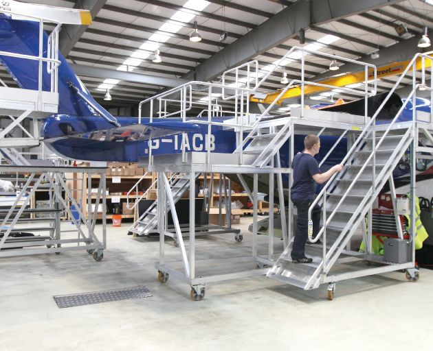 Aluminium Helicopter Access Steps