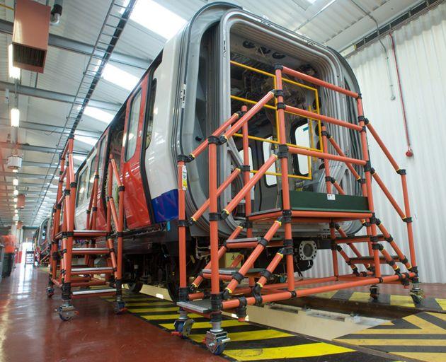 Fibreglass Train Access Steps