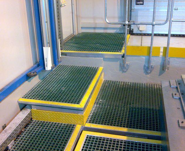 Fibreglass Infill Platforms
