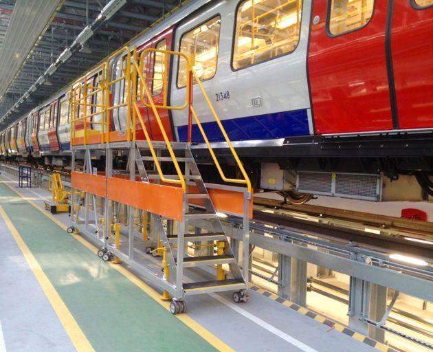 Aluminium Underground Carriage Access.