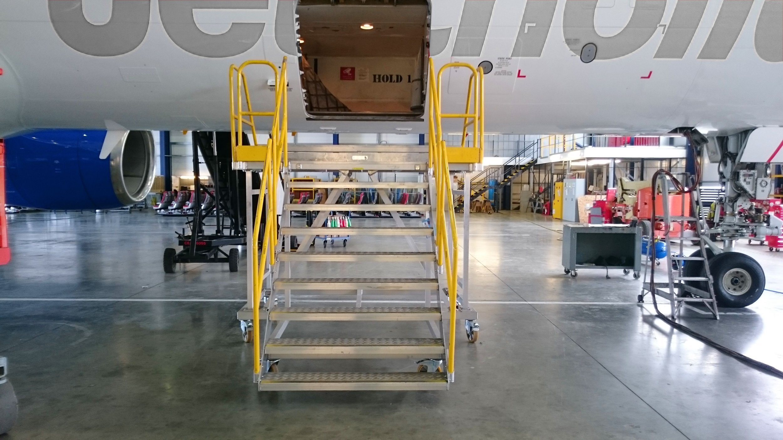 25. Aircraft Door Steps