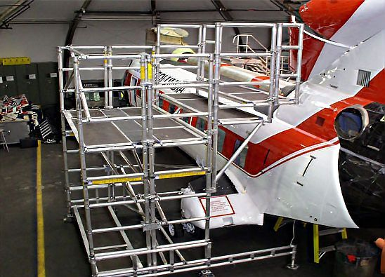 15. Aircraft Tail Dock Platform