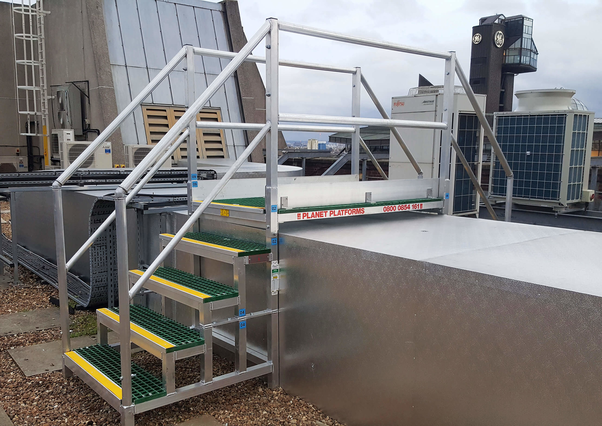 Roof Access Steps