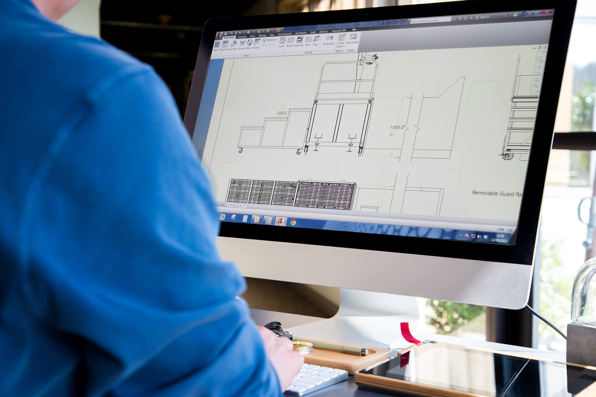 Planet Platforms CAD Drawing