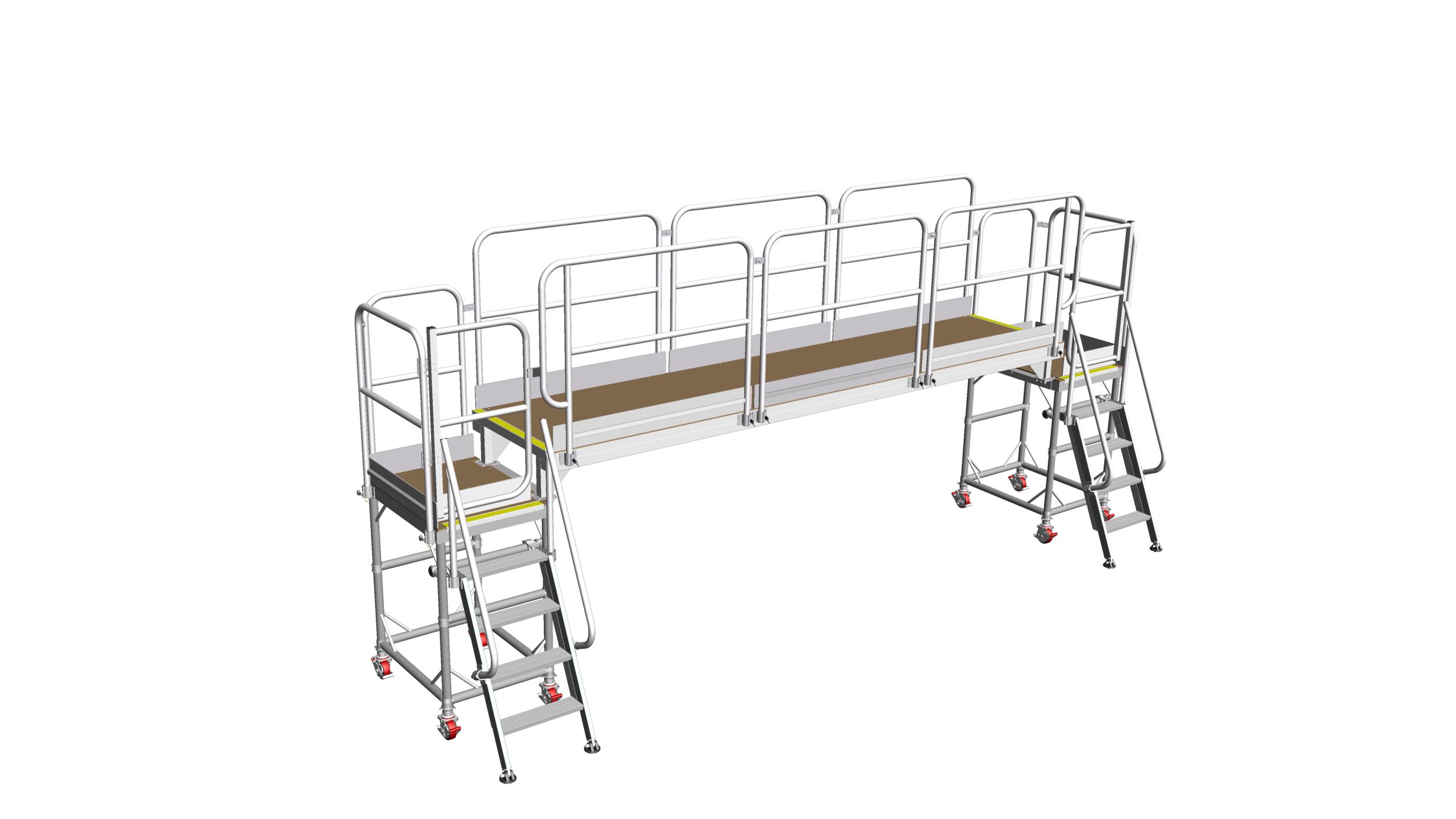 32. Door installation platform