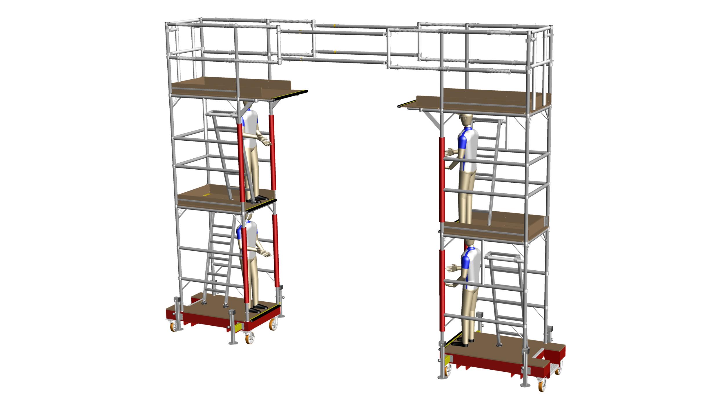31. Engine fancase linked towers