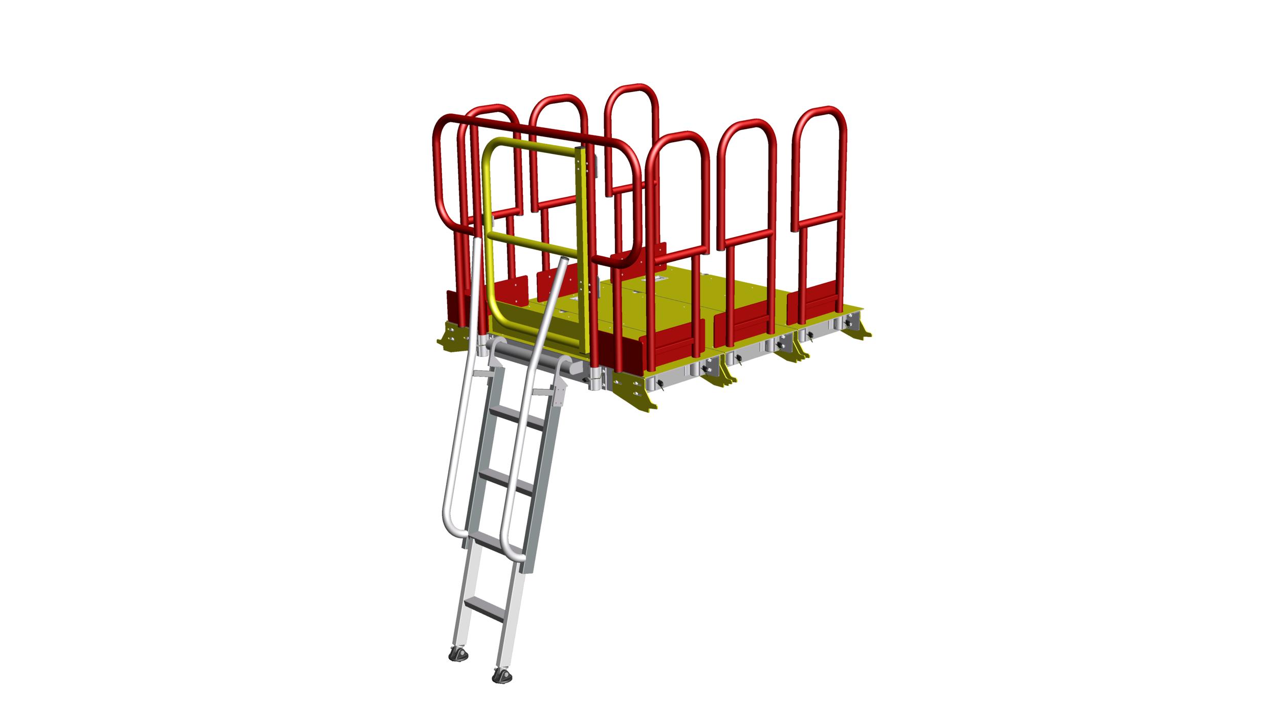21. Linked rail pitboards