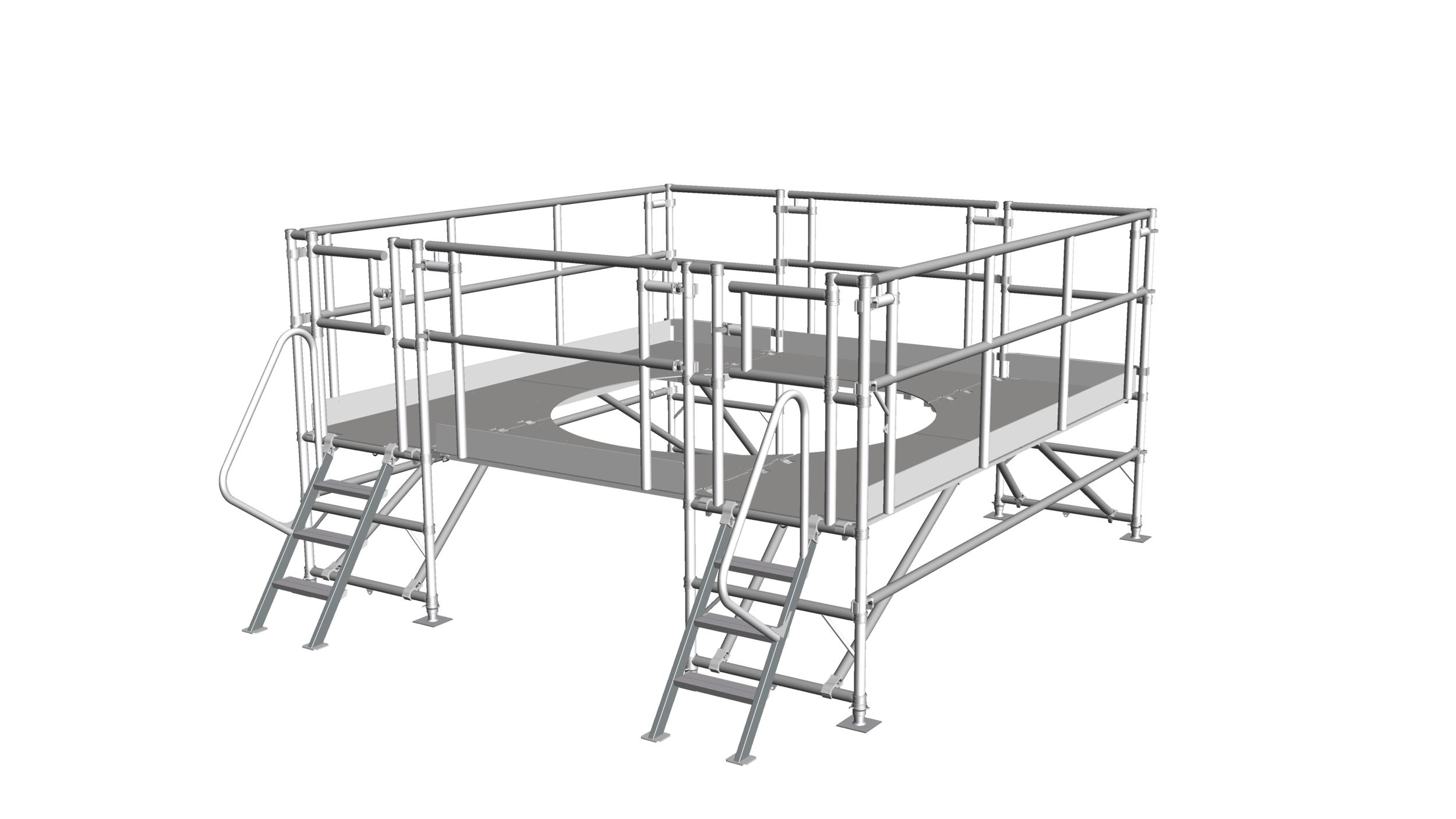17. Low-level access platform