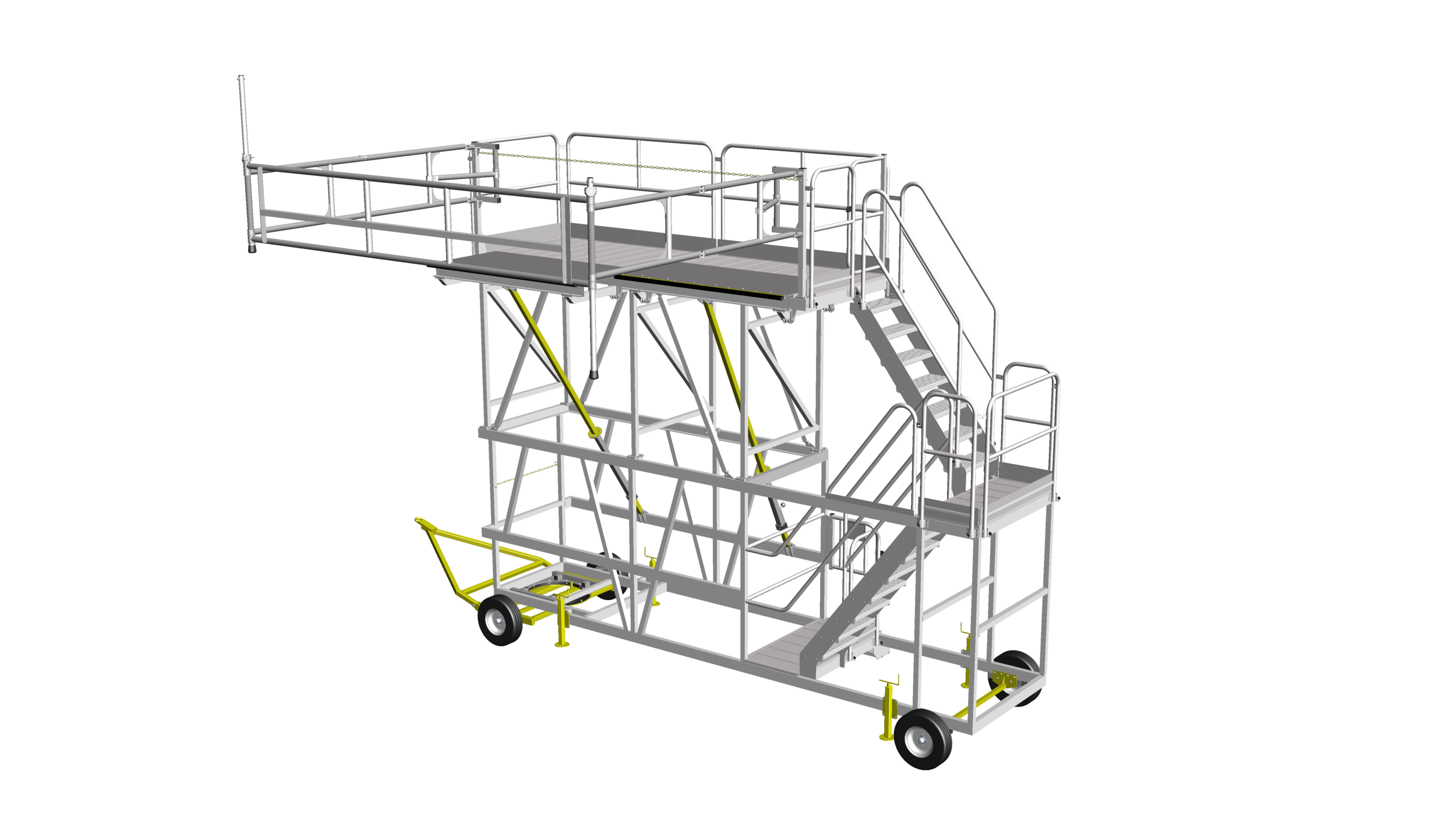 9. Towable carriage access system