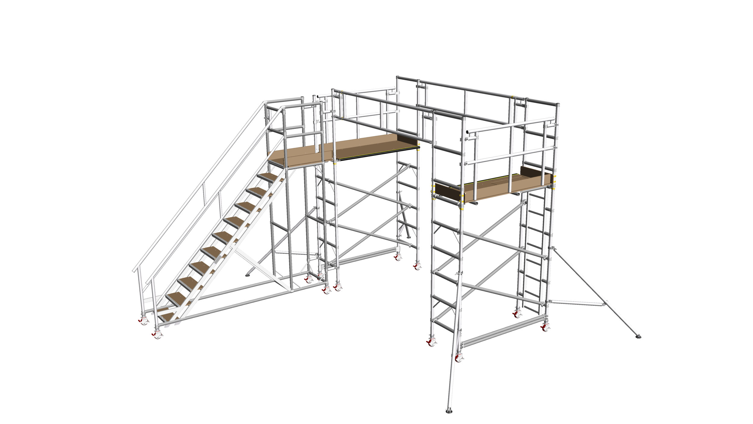 2. Vehicle roof access system