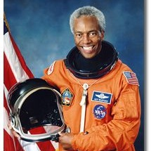 Guion Bluford - Guion born in Philadelphia, PA. Bluford was an incredibly accomplished and decorated pilot. He became an astronaut with NASA in 1979 and was the first African American to go to space. over the course of his career as an astronaut, he completed four flights, logging nearly 700 hours in space.More Info