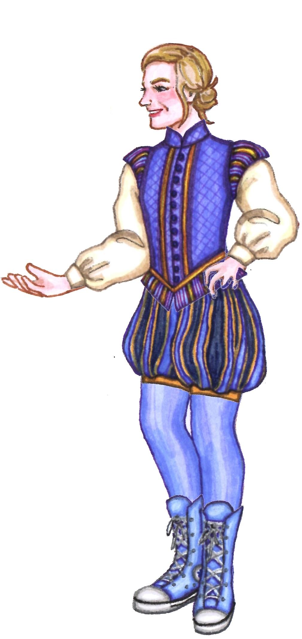 - *Romeo and Juliet*: the Prince -> Friar*Titus Andronicus*: Titus~Comedies~: Princess -> Merchant*MacBeth*: MacBeth*Antony & Cleopatra*: Marc Antony~Histories~: King John -> King Henry IV*Hamlet*: Hamlet